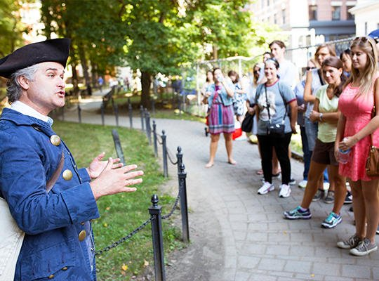 Freedom Trail Walking Tour Tickets