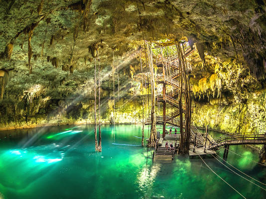 Full-Day Tour to Ek Balam & Cenote Maya with Lunch