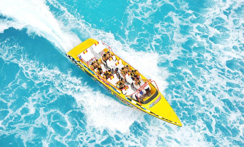 Aquatwister Speedboat Cancun