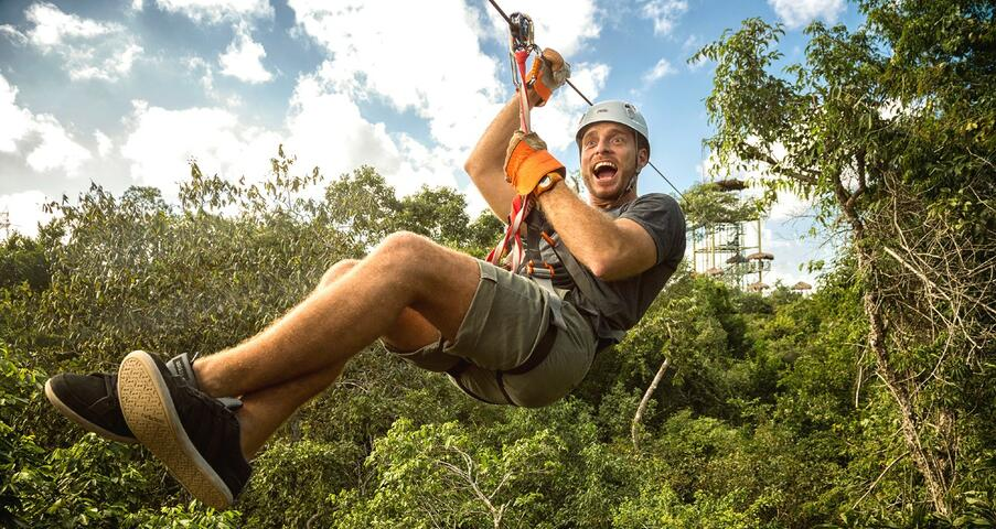 Extreme Canopy Tour at Selvatica Park