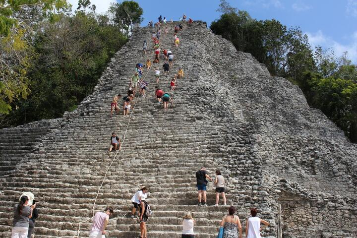 Coba and Cenote Swim with Lunch Tour Cancun