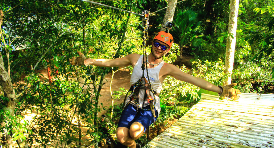 ATV, Zipline and Cenote combo Cancun