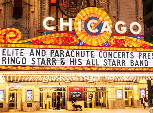 Chicago Theatre Ticket