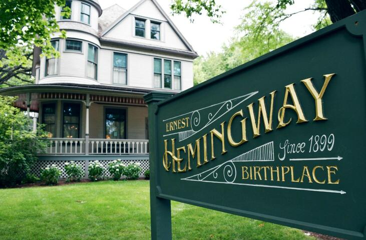 Ernest Hemingway Birthplace Home GO Chicago