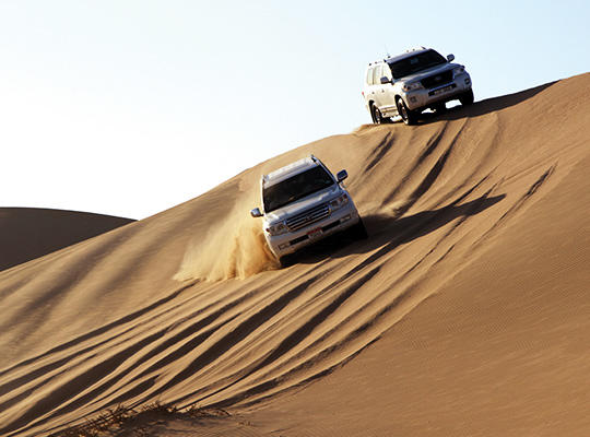 Desert Safari and BBQ Dinner in Abu Dhabi | Go Dubai Pass