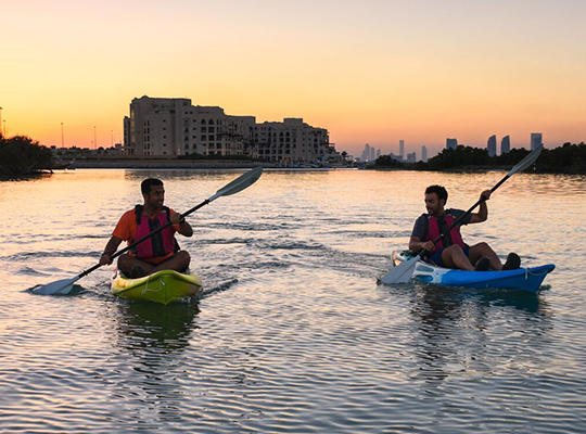 Kayak Tour of the Mangroves in Abu Dhabi