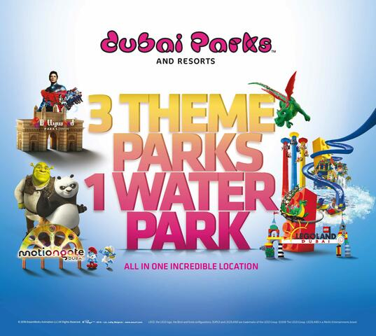 Dubai Theme Parks and Resorts | Go Dubai Pass