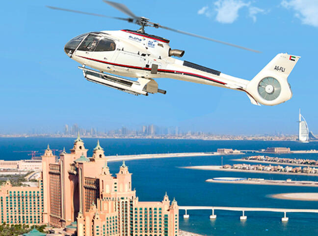 Helicopter Sightseeing Tour of Dubai