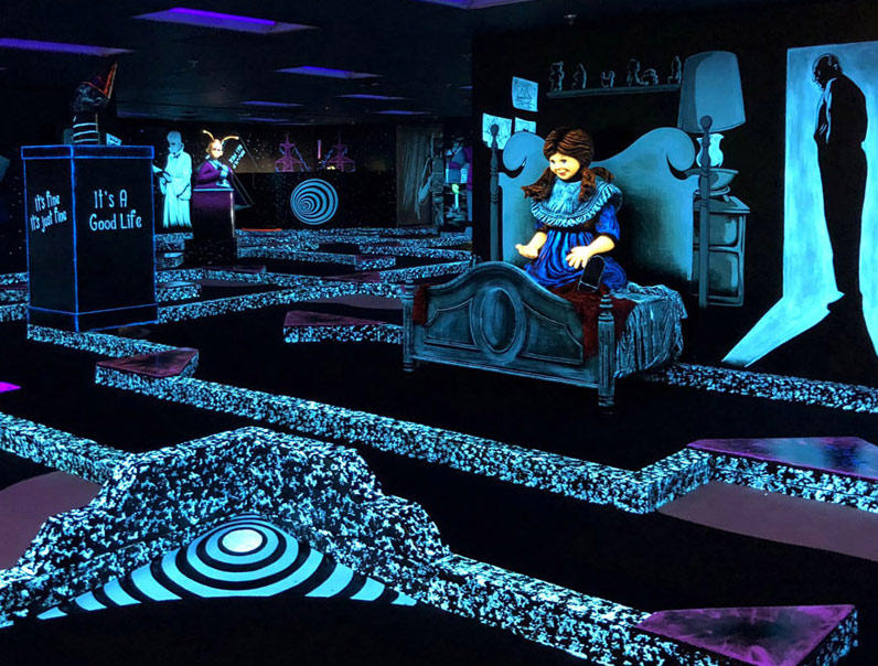 One Round of Monster Mini Golf   Save With Go Las Vegas