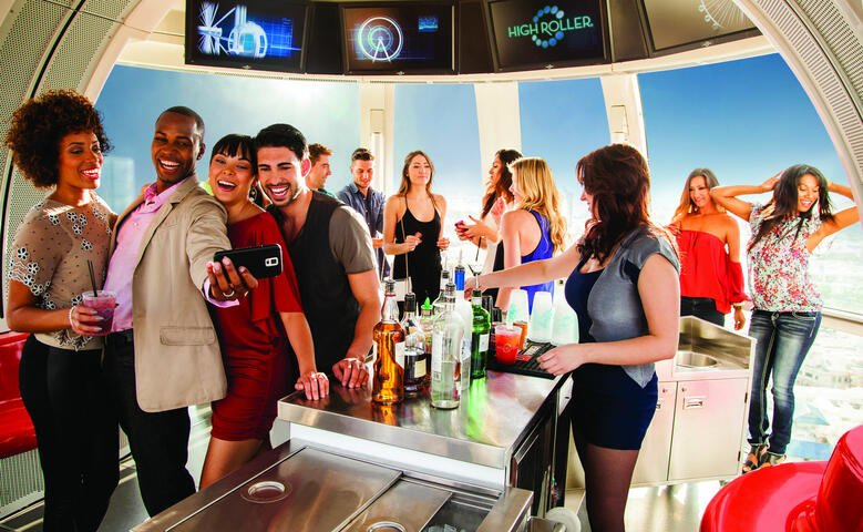 High Roller Happy Hour - Daytime