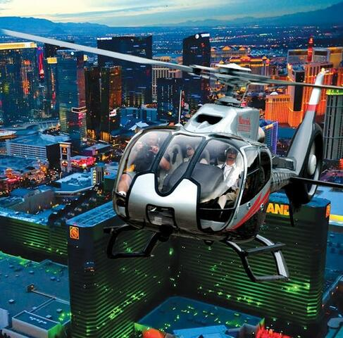Las Vegas Strip Helicopter Tour Tickets | GO Las Vegas Pass