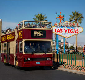 Hop-On Hop-Off Bus Tour Las Vegas