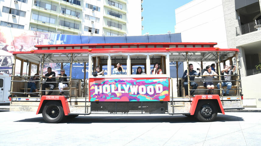 Trolley tour Los Angeles