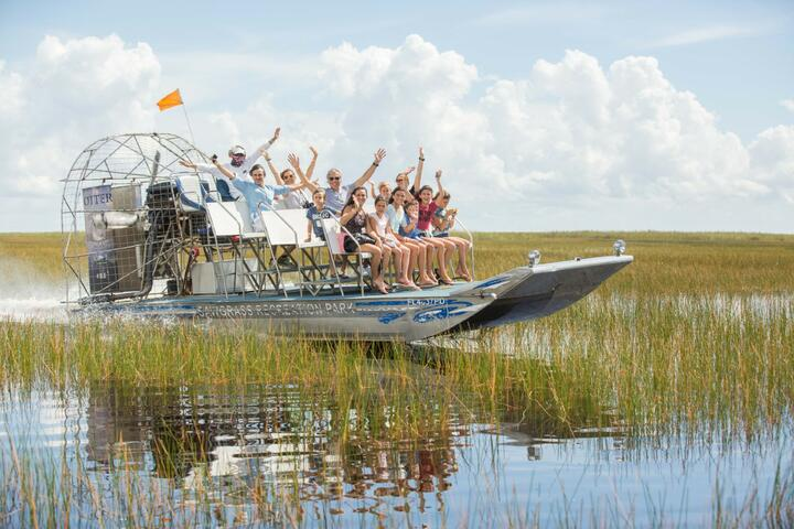 Sawgrass Recreation Park Everglades Airboat Adventures | Go Miami Pass