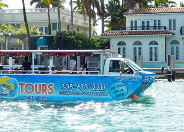 Duck Tour South Beach | Go Miami Pass