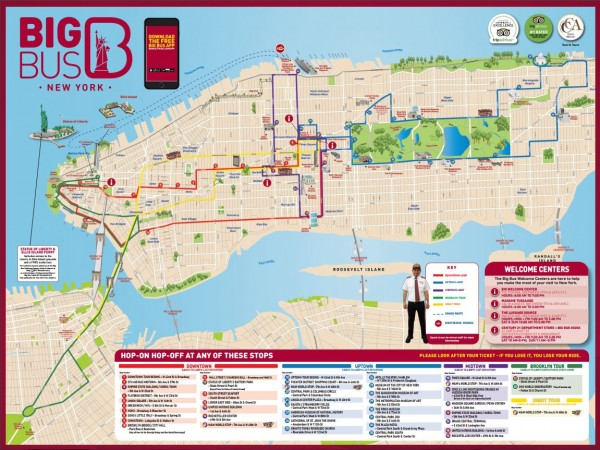 Hop On Hop Off Nyc Map CitySights NYC vs. Big Bus New York: Comparing the Differences