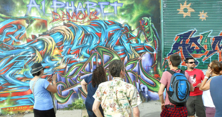 Alternative Street Art Walking Tour of the Lower East Side