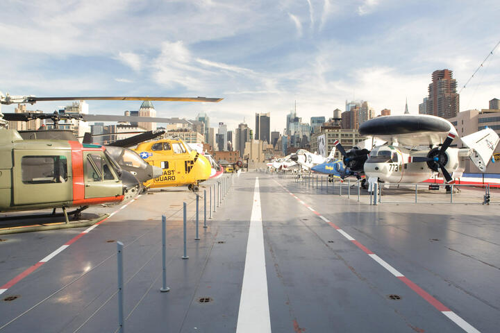 Intrepid Sea, Air, and Space Museum Tickets | New York Explorer Pass