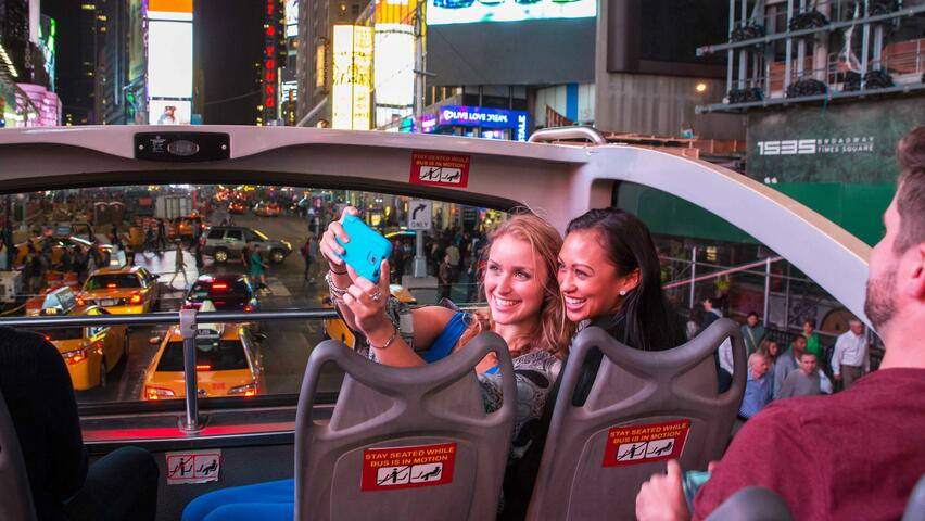 Night Tour by Big Bus New York Tickets Discounts | New York Explorer Pass