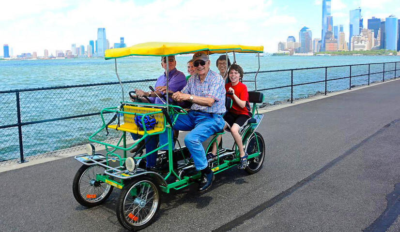 Surrey Bike Rental on Governors Island