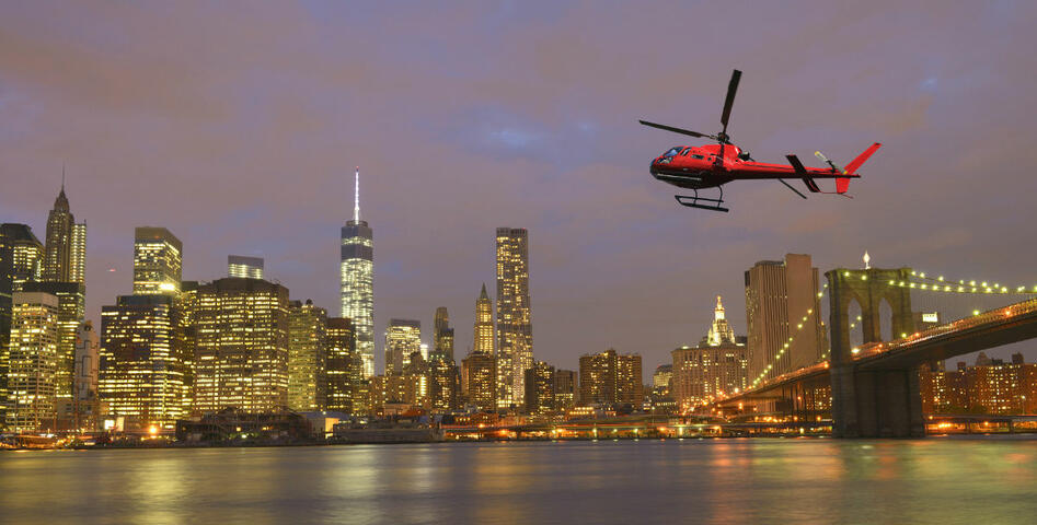 Helicopter tour New York