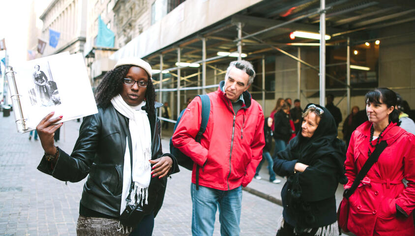 NYC Slavery & Underground railroad walking tour