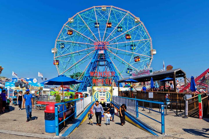 Deno's Wonder Wheel at Coney Island