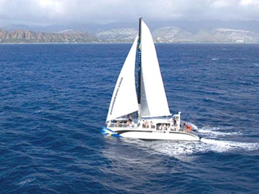 Hawaii Makani Catamaran Sail Tickets   Discounts With Go