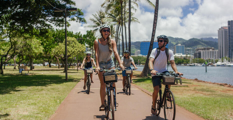 Hawaiian Style Bike Rental