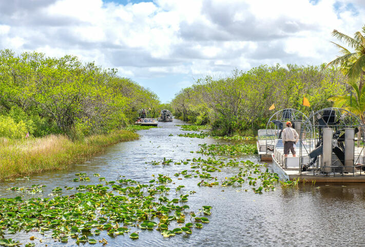 Sawgrass Everglades Airboat Adventures | Go Orlando Pass