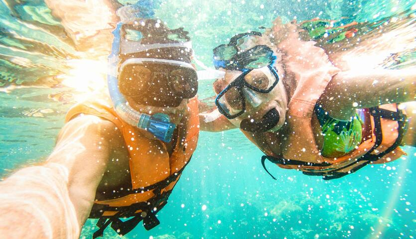 Sea Experience Glass Bottom Boat and Snorkeling | Go Orlando Pass