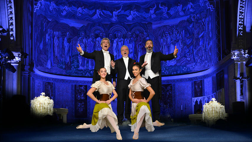 The Three Tenors in Concert with Ballet - St Paul's Church