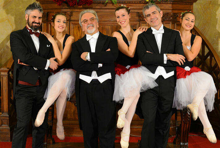 The Three Tenors in Concert with Ballet - Waldensian Auditorium