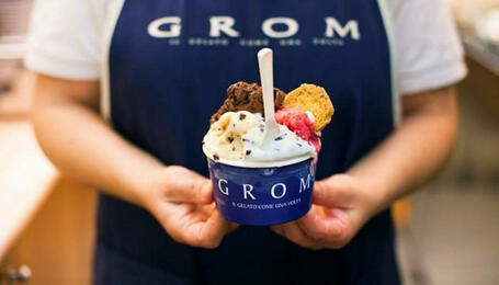 Artisanal Gelato Making Class at Grom with Walking Tour