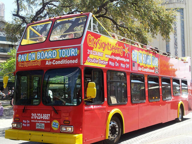 City Sightseeing Hop-On Hop-Off San Antonio Tour | Go San Antonio Pass