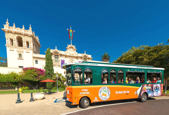 Hop-on Hop-off San Diego Trolley Tour | GO San Diego Pass