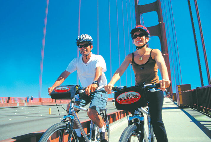 Blazing Saddles Bike Rentals | GO SAN FRANCISCO PASS