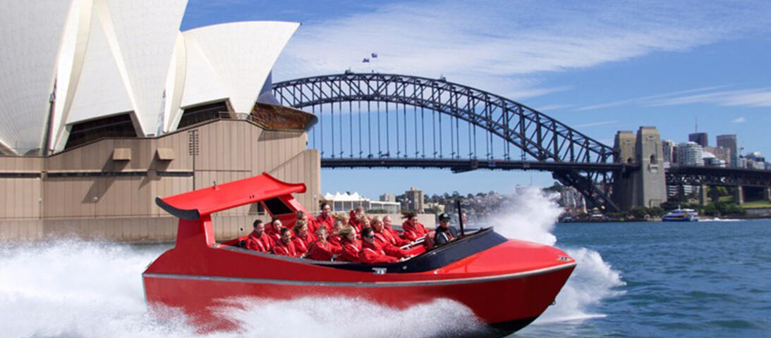 Sydney Jet - Thrill Ride